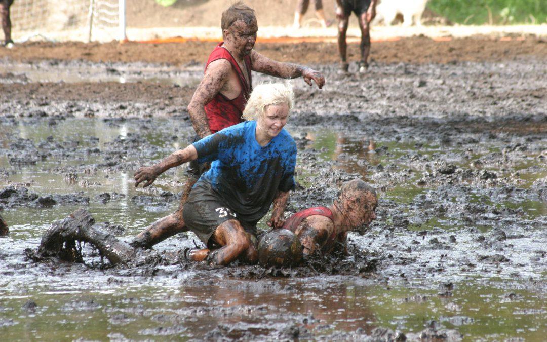 Swampsoccer – myrfotboll mitt i byn