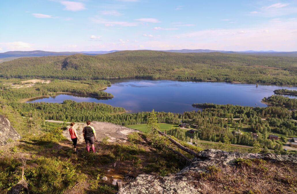 To the top – Forsviksberget @storumanlapland