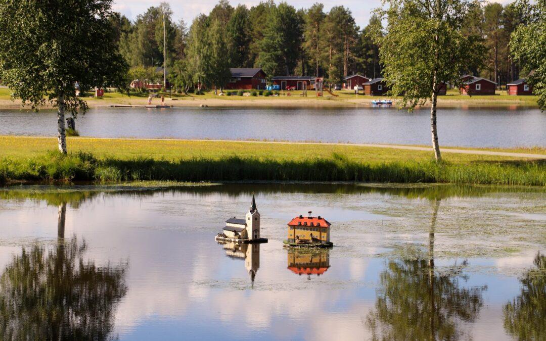 Miniatyrerna vid Badsjön
